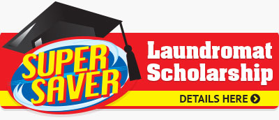 Super Saver Laundromat Scholarship
